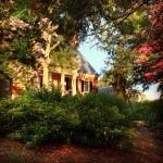 Old plantation home
