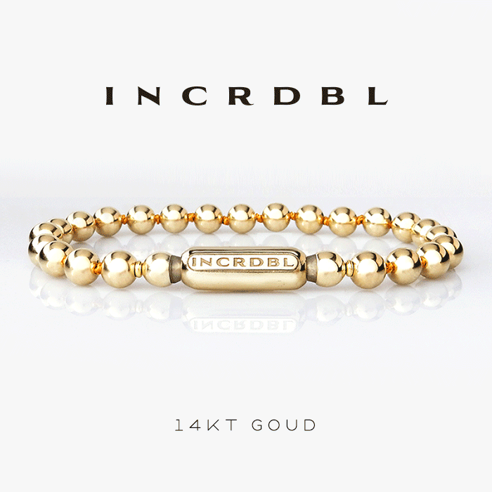 INCRDBL-armband-14kt-goud