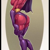 Violet Parr showing us her incredible assets!