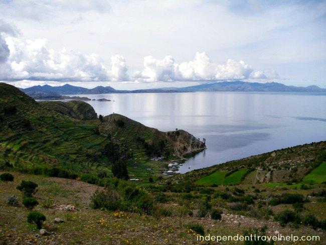 bolivia, lake titicaca, island, lake, scenery