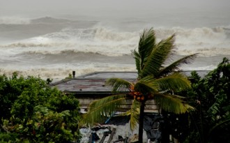Early days, but fierce cyclones could be climate change pointer
