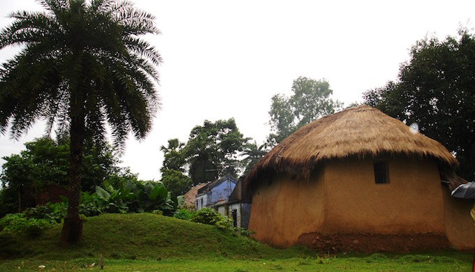 The idyllic Bengal countryside faces increased earthquake risk. (Photo by Dia Mukherjee)