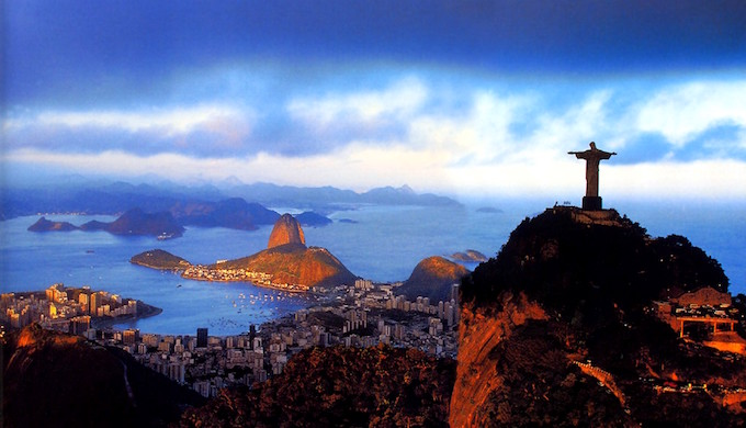 A panoramic view of Rio de Janeiro. (Photo by swiftjetsum626)