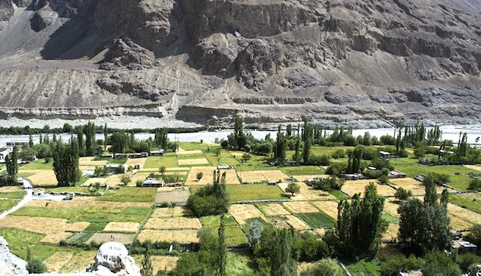 Rising temperatures and unpredictable rainfall is impacting livelihoods in Ladakh.