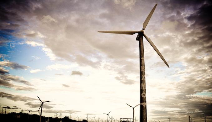 A wind farm in Tamil Nadu. (Photo by Rakesh Ashok)