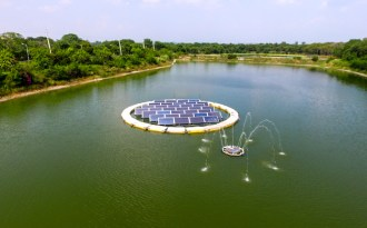 Floating solar plants could solve land acquisition issues