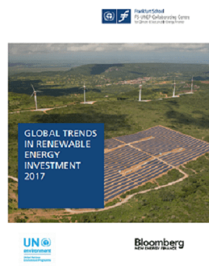 Click to download 'Global Trends in Renewable Energy Investment 2017'