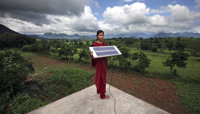 Off-grid electrification in India is expected to suffer a blow. (Photo by Abbie Trayler-Smith)