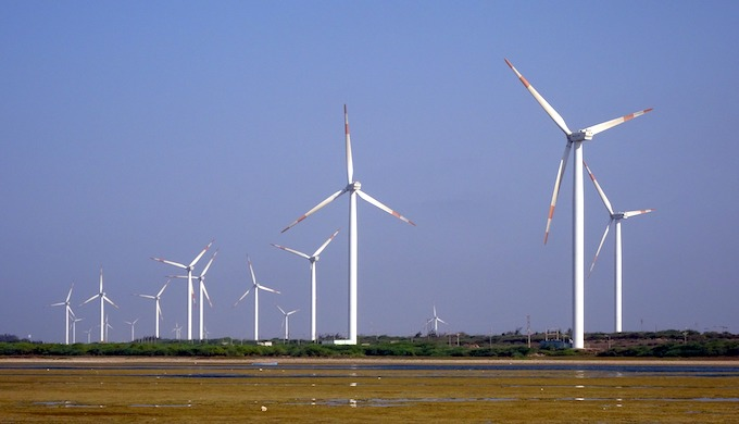 The dream run of the wind sector in India has slowed for now. (Photo by Bishnu Sarangi)