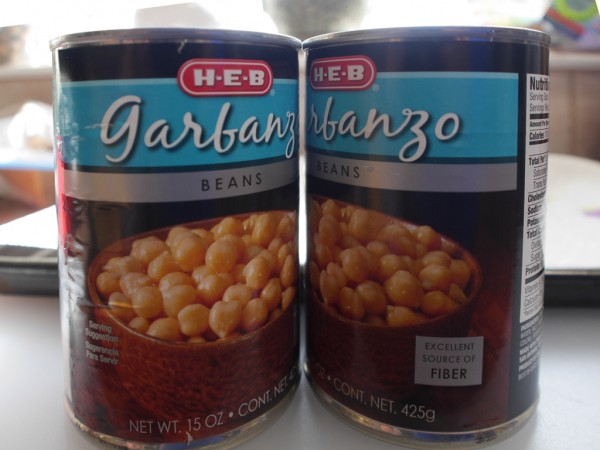 Garbanzo Beans Can