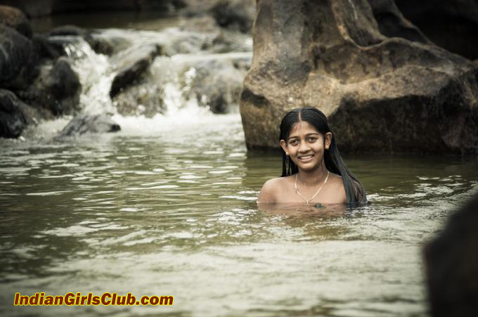 public bathing in india