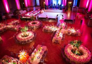 Plan your Indian Wedding Reception Layout With Intention-XO reception layout