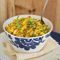 Healthy and Easy, Indian Spiced Quinoa