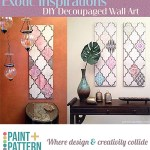 Stenciled Wall Art Inspired by Indian Jali Windows