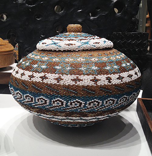 Beaded Basket at PIRCH