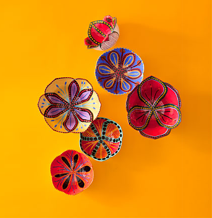 Garden Wall Flowers from South African Ceramicists