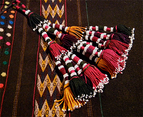 Turkomen Tassels from Luxethink Etsy Shop