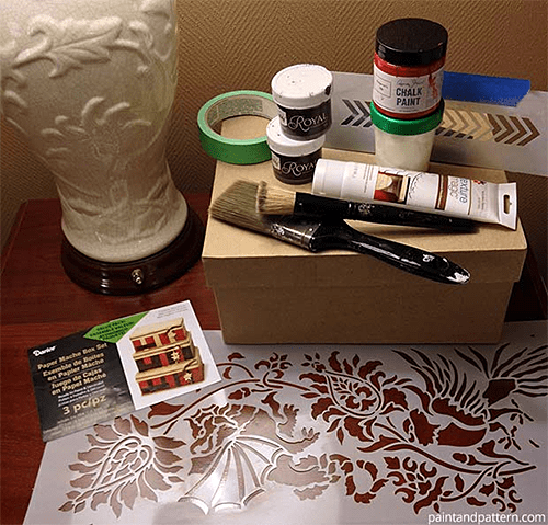 Supplies for Painted Chinese Box