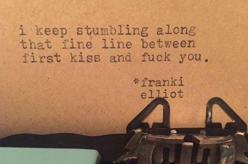Les poèmes de rue de Franki Elliot