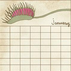 Carnivorous Calendar