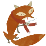 Hello Autumn! Fox Graphic – Pearl + Earl