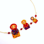 Russian Doll Necklace – Rakunshop