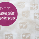 Camera Printed Wrapping Paper – Crafted Blog