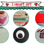 I Heart Art Valentines Online Craft Workshop – Punk Projects