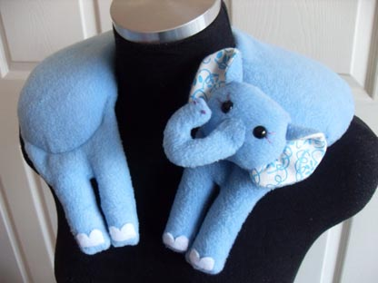 Daphne Elephant Pillow