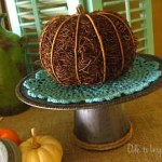 Galvanized Cake Stand – Ode to Inspiration