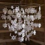 Paper Snowflake Chandelier – Paper Kawaii