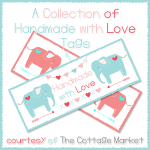 Free Printable – Handmade label