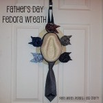 Father's Day Fedora Wreath ~ Navy Wifey Peters Aboard the USS Crafty