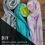 DIY Summer Scarf