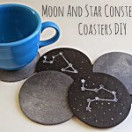 Moon And Star Constellation Coasters DIY