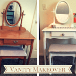 DIY Vanity Makeover + Furniture Makeover Tips