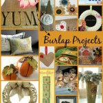 25 Clever Burlap DIY Projects