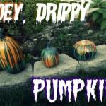 DIY Gooey, Drippy Pumpkins