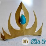 DIY Crown Tutorial: Elsa the Snow Queen