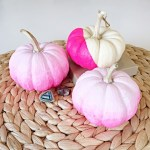 DIY Ombre Pumpkin Halloween Decoration