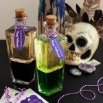 DIY Magic Potion Bottles