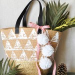 Easy Handmade Triangle Tote