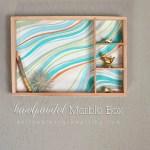 DIY Handpainted Marble Wall Box