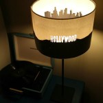 DIY Hollywood Sign Lampshade