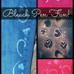 Decorating Fabric with Bleach