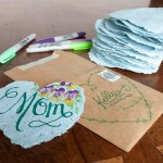 DIY: Paper Heart Cards with Flower Seeds Inside