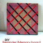 Memory Board DIY