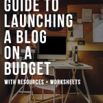 How to Launch a Blog on a Budget