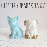 DIY Glitter Salt and Pepper Shakers