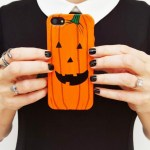 DIY Pumpkin Halloween Phone Case